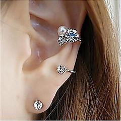 preiswerte Ohrringe-Damen Kristall Ohrstecker - Krystall, Diamantimitate Silber / Golden Für Party Alltag Normal