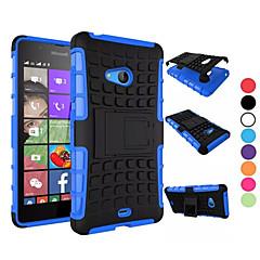 Voor Nokia hoesje Schokbestendig / met standaard hoesje Achterkantje hoesje Pantser Hard PC NokiaNokia Lumia 950 / Nokia Lumia 830 /