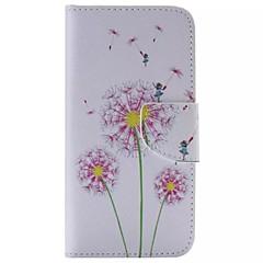 Χαμηλού Κόστους Galaxy S4 Mini Θήκες / Καλύμματα-Για Samsung Galaxy Θήκη Πορτοφόλι / Θήκη καρτών / με βάση στήριξης / Ανοιγόμενη tok Πλήρης κάλυψη tok Ραδίκι Συνθετικό δέρμα SamsungS6
