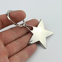 sourire à cinq branches trousseau étoiles de style avec un matériau plastique souple