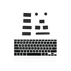 """お買い得  MAC 用キーボード カバー-MacBookの13 """"空気/網膜のために一致するキーボードカバーを+シリコンアンチダストポートプラグ"""
