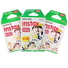 nuevo mini película instax Fujifilm 30 hojas filo liso foto instantánea de la cámara Mini 7s 8 25 50 90