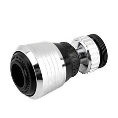 abordables Robinets-360 rotatif cuisine robinet buse adaptateur salle de bain robinet accessoires filtre pointe économisant l'eau