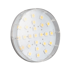 cheap LED Bulbs-4W 250-300lm GX53 LED Spotlight 25 LED Beads SMD 5050 Warm White 220-240V