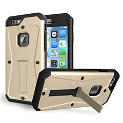 Недорогие Кейсы для iPhone-icase Кейс для Назначение Apple iPhone 6 Plus / iPhone 6 Защита от удара / Защита от пыли / Защита от влаги Чехол Однотонный Мягкий ТПУ для iPhone 6s Plus / iPhone 6s / iPhone 6 Plus
