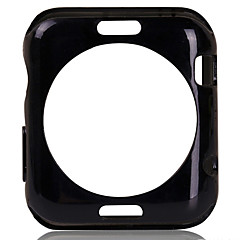 abordables Ofertas Semanales-TPU moda suave cubierta de la caja de ida y protector de pantalla de cristal templado de 38mm iWatch / 42mm
