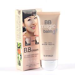 お買い得  BB&CCクリーム-1 ファウンデーション ウエット 湿度 / 美白 / 長持続性 / ナチュラル / ブライトニング 顔 Natural / クリスタル