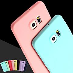 roze meisje effen kleur elegante eenvoudige zachte hoes voor Samsung Galaxy S3 / S4 / S5 / s6 / s6 edge / s6 rand plus (verschillende