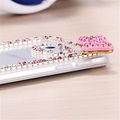 brokat diament bowknot wzór tylna skrzynka dla Samsung Galaxy S3 / S4 / S5 / S6 / S6 krawędzi / EDGE s6 oraz
