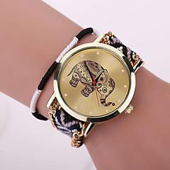 preiswerte Damenuhren-Xu™ Damen Armband-Uhr Armbanduhren für den Alltag Stoff Band Blume / Böhmische / Modisch Mehrfarbig / Ein Jahr / SODA AG4