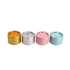 cheap Beads & Jewelry Making-Paper Round Ring/earrings Jewelry/Gift Packing Box Fit Brithday/Wedding Decoration Fashion Jewelry Box