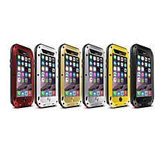 Недорогие Кейсы для iPhone 6 Plus-Кейс для Назначение iPhone 6s Plus / iPhone 6 Plus iPhone 6 Plus Чехол Твердый Металл для iPhone 6s Plus / iPhone 6 Plus
