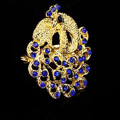 Dame Broșe La modă Păun Albastru Bijuterii Nuntă Petrecere Ocazie specială Zi de Naștere Zilnic