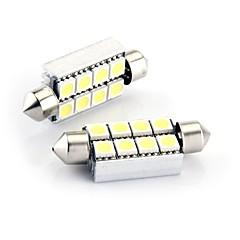 voordelige -8 smd geleid CANbus 214 569 interieur lamp licht 43mm (2 stuks)