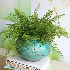 abordables Decoración de Oficina-Flores Artificiales 2 Rama Estilo moderno Plantas Flor de Mesa
