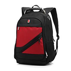お買い得  ラップトップケース-MacBook /デル/馬力、などのために15.6インチの防水ユニセックスノートパソコンのバックパックナップザックリュックサック旅行バックパックスクールバッグ
