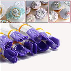 Udsmykning Værktøj Til Kage Til Cupcakes Til Tærte Plastik Miljøvenlig Høj kvalitet Gør Det Selv