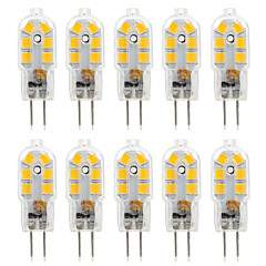 abordables LED e Iluminación-ywxlight® 2.5w g4 led luces bi-pin 14 smd 2835 250 lm blanco cálido blanco frío decorativo ac 220-240 dc 12 v 10pcs