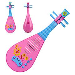 różowe zabawki muzyczne instrumenty muzyczne dla dzieci lutni