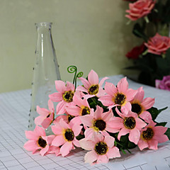 Polyester Kasımpatı Yapay Çiçekler