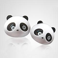 ziqiao 1 par oso panda encantador sabor coche ambientador de aire de salida del difusor de perfume suministros mágicos