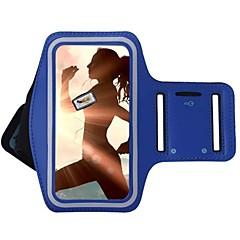 Недорогие Универсальные чехлы и сумочки-Кейс для Назначение универсальный с окошком Нарукавная повязка С ремешком на руку Сплошной цвет Мягкий текстильный для S8 Plus S8 S7 edge