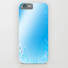 Недорогие Кейсы для iPhone 6-Кейс для Назначение Apple iPhone 6 iPhone 6 Plus С узором Кейс на заднюю панель Градиент цвета Твердый ПК для iPhone 6s Plus iPhone 6s
