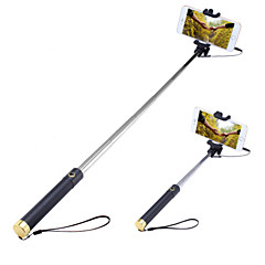 Selfie Stick with A Built-in Remote Shutter Mini3 Extendable Handled Stick Designed for IOS, Android Smartphones