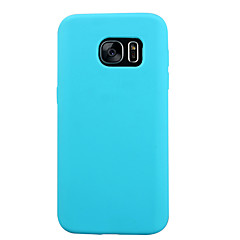 Για Samsung Galaxy S7 Edge Ανθεκτική σε πτώσεις tok Πίσω Κάλυμμα tok Μονόχρωμη Σιλικόνη για Samsung S7 S6