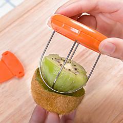 1pc kiwi dunschiller gebakjesnijder clip willekeurige kleur keuken benodigdheden