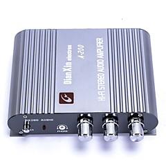 tanie Sprzęt audio samochodowy-A-200 muzyczny wzmacniacz stereofoniczny aoudio na samochód / motocykl