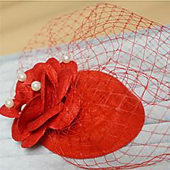 お買い得  子供用ヘアジュエリー-パーティーウェディングクラシックフェミニンスタイルの帽子の魅力の髪のジュエリー