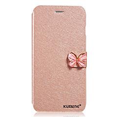 Χαμηλού Κόστους Galaxy A7 Θήκες / Καλύμματα-Για Samsung Galaxy Θήκη Ανοιγόμενη / Μαγνητική tok Πλήρης κάλυψη tok Μονόχρωμη Συνθετικό δέρμα Samsung A8 / A7 / A5 / A3