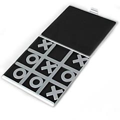 preiswerte -Reisen Tic Tac Toe-Aluminium Brettspiele