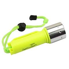 LED zseblámpák Búvárlámpa LED 2000 Lumen 1 Mód Cree XM-L2 T6 18650 Ütésálló Vízálló Kompakt méret Sürgősségi High Power