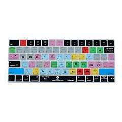 お買い得  MAC 用キーボード カバー-魔法のキーボード2015バージョン、私たちレイアウトのxskn初演プロccのショートカットキーボードカバーシリコンスキン