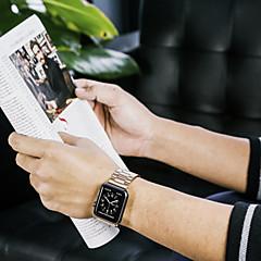 hesapli -Watch Band için Apple Watch Series 4/3/2/1 Apple kelebek Toka Paslanmaz Çelik Bilek Askısı