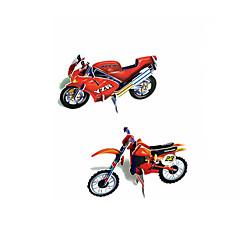 Puzzle 3D Jucării Educaționale Puzzle Modelul de hârtie Jucării pentru mașini Motocicletă Jucarii Motocicletă 3D Bucăți