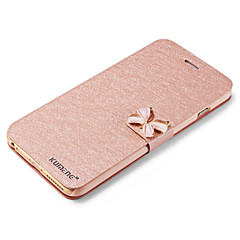 tanie Etui do iPhone-Kılıf Na Apple iPhone X iPhone 8 iPhone 6 iPhone 6 Plus Etui na karty Z podpórką Flip Pełne etui Połysk Twarde Skóra PU na iPhone X
