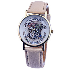 お買い得  大特価腕時計-女性用 クォーツ リストウォッチ PU バンド チャーム / ファッション ブラック / 白 / ブルー / ベージュ