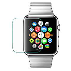 abordables Protectores de Pantalla para Apple Watch-Protector de pantalla Para 42mm iWatch Vidrio Templado Alta definición (HD) 1 pieza