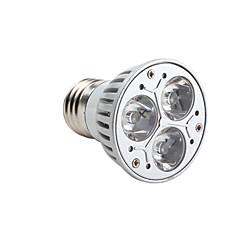 cheap LED Bulbs-3000 lm GU10 E26/E27 LED Spotlight MR16 3 leds High Power LED Dimmable Warm White AC 220-240V