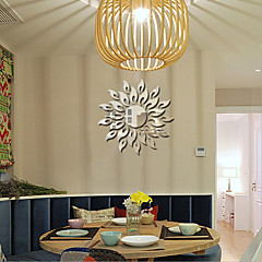 패션 / 판타지 / 3D 벽 스티커 거울 벽스티커,PVC 15X15X0.1