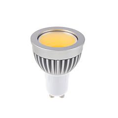 GU10 LED Spotlight MR16 1 COB 450lm Warm White Cold White 3000-3500K,6000-6500K Dimmable AC 220-240 AC 110-130V