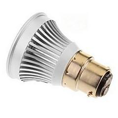 3W E14 GU5.3(MR16) B22 E26/E27 Точечное LED освещение MR16 1 светодиоды COB Тёплый белый Холодный белый 250-300lm 6000-6500K DC 12V