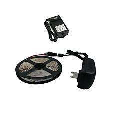 olcso -z®zdm 5m 300x3528 SMD fehér LED szalag fény és ac110-240v a dc12v2a transzformátor