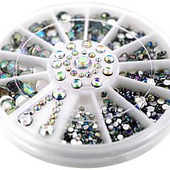 お買い得  幾何学模様ラインストーン-ネイルアートデコレーション ラインストーンパール メイクアップ化粧品 ネイルアートデザイン