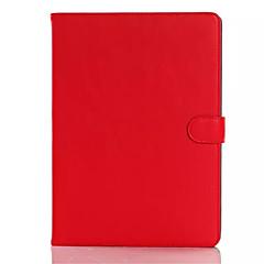 más nuevo estilo de Corea para el soporte plegable cubierta de la tableta de aire de Apple IPAD 2 caso de cuero de alta calidad tirón de