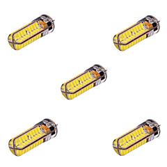preiswerte LED-Birnen-YWXLIGHT® 5 Stück 10 W 800-1000 lm G4 LED Doppel-Pin Leuchten T 72 LED-Perlen SMD 5730 Dekorativ Warmes Weiß / Kühles Weiß 12 V / 24 V / RoHs