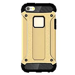 abordables Accesorios para iPhone 6s/6-Funda Para Apple iPhone 6 iPhone 6 Plus Antigolpes Funda Trasera Armadura Suave TPU para iPhone 6s Plus iPhone 6s iPhone 6 Plus iPhone 6